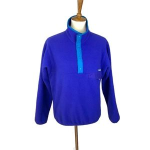 Patagonia Fleece Pullover Size Small Blue